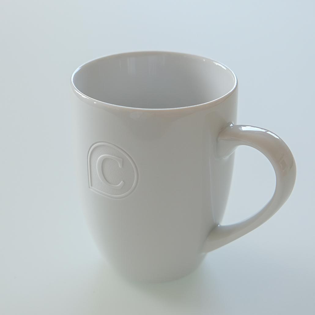 Tasse mit Gravur